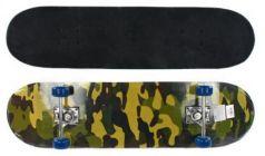 Скейтборд Millitary 79х20 см, PVC колеса 635079