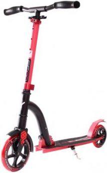 Самокат Y-SCOO Slicker 180 с амортизатором Deluxe red красный