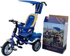 Велосипед Lexus Trike RT Next Deluxe с высокой спинкой синий