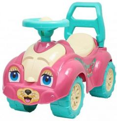 Каталка-машинка R-Toys Zoo Animal Planet Кошка розовый от 8 месяцев пластик Т0823