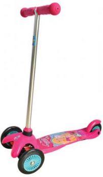 Самокат 1TOY Barbie розовый Т57618