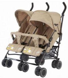 Коляска-трость для двойни Baby Care Citi Twin (Khakki)