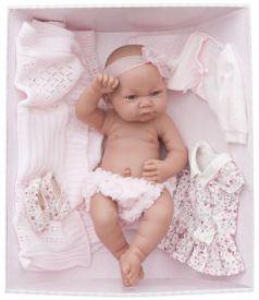 Кукла-младенец Munecas Antonio Juan Эльза в розовом 42 см 5073P