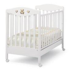 Кроватка Erbesi Tippy Jolie (белый)