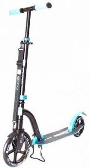 Самокат Y-SCOO RT 230 Slicker с амортизатором Deluxe new technology голубой