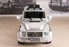 Электромобиль RT Mercedes-Benz AMG NEW Version 12V R/C silver с резиновыми колесами DMD-G55