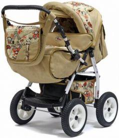 Прогулочная коляска Teddy BartPlast Victoria 2016 BKL (PA02/бежевый)