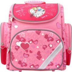 Ранец с рельефной спинкой Action! LOVE IS розовый LI-ASB9000/1