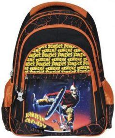 Рюкзак с уплотненной спинкой Action! EXTREME ZOMBIES оранжевый