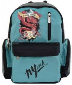 Рюкзак с уплотненной спинкой Action! DISCOVERY INK зеленый DI-AB11033/2 DI-AB11033/2