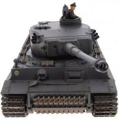 Танк на радиоуправлении VSP German King Tiger I пластик от 14 лет серый 628437