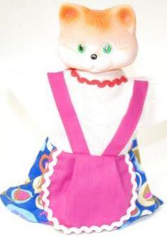 """Кукла на руку Русский Стиль """"Кошка"""" 11079"""