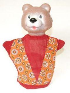 """Кукла на руку Русский Стиль """"Медведь"""" 27 см 11019"""