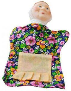 Кукла на руку Русский Стиль Бабка 31 см