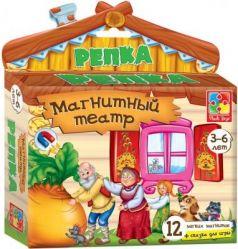 Магнитный театр Vladi toys Репка 13 предметов VT3206-07