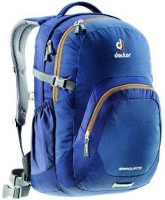 Городской рюкзак с отделением для ноутбука Deuter Graduate 28 л синий 80232-3608