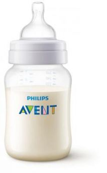 Бутылочка Avent Classic+ Pp, 260 мл, сил. соска, медл. поток, 0+, 1 шт.