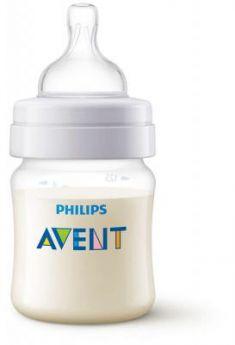 Бутылочка Avent Classic+ Pp, 125 мл, сил. соска,  0+, 1 шт., арт.  80021