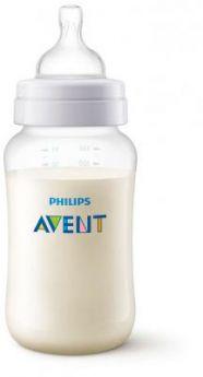 Бутылочка Avent Classic+ Pp, 330 мл, сил. соска, ср. поток, 3+, 1 шт., арт. 80031