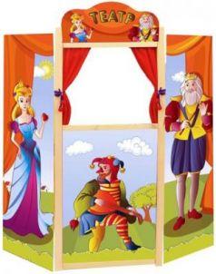 Кукольный театр Жирафики Ширма для кукольного театра напольная 68341 68350