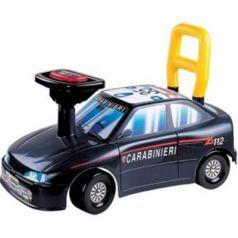Каталка-машинка Нордпласт Авто Карабинеры пластик от 1 года на колесах черный 431001