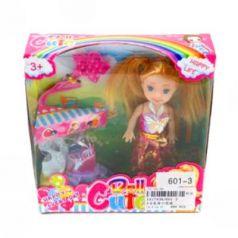 Кукла Shantou Gepai Куколка 9см с аксес-ми 9 см 35808