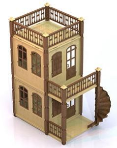 Дом для кукол Нордпласт Замок Принцессы 591/1