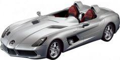 Машинка на радиоуправлении Rastar Mercedes-Benz SLR, 1:12 серебристый от 8 лет пластик 42400