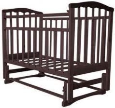 Кроватка с маятником Золушка-3 (шоколад)