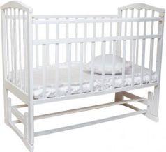 Кроватка с маятником Золушка-5 (белый)