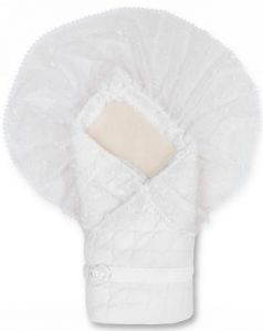 Конверт-одеяло Сонный Гномик Зимушка (белый)