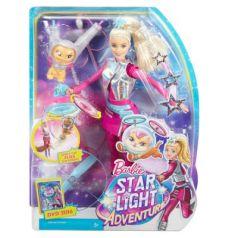 Barbie с летающим котом Попкорном из серии Barbie и космические приключения