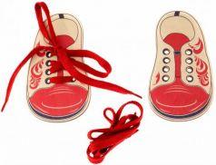 шнуровка-ботинки «Хохлома»