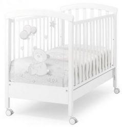 Кроватка -качалка Erbesi Toby (белый)