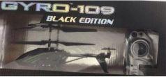 """Вертолёт на радиоуправлении 1toy """"GYRO-109"""" - Black Edition металл от 8 лет черный Т58768"""