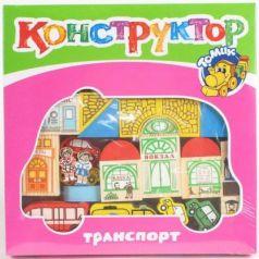 Конструктор Томик Транспорт 45 элементов 7678-3