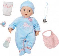 Кукла ZAPF Creation Baby Annabell Мальчик многофункциональный 43 см пьющая плачущая писающая со звуком