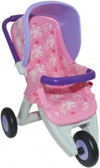 Коляска для кукол Полесье №2 прогулочная 3-х колёс в ассортименте 48141