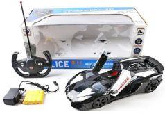 """Машинка на радиоуправлении Shantou Gepai """"Полиция"""" пластик, металл от 3 лет разноцветный"""