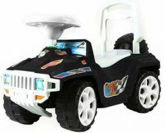 Каталка-машинка Rich Toys Mini Formula 1 пластик от 10 месяцев с ручкой для родителей черный ОР856