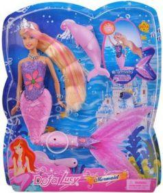Кукла Defa Luсy «Русалка»  со свет. эф-ми, 29 см 8243