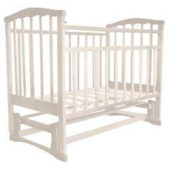 Кроватка с маятником Золушка-5 (слоновая кость)