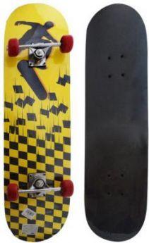 Скейтборд Shantou Gepai Tetris  79х20 см, PVC колеса