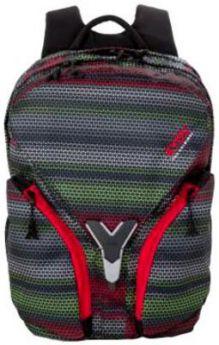 Рюкзак с отделением для ноутбука 4YOU IGREC ПОЛОСЫ 23 л серый черный 115500-204