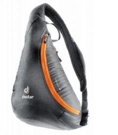Сумка Deuter Tommy S 5 л черный оранжевый