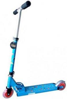 Самокат двухколёсный X-Match Cute синий  64989