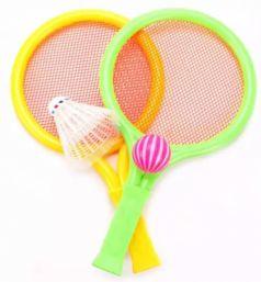 Набор ракетки детские Shantou Gepai 27 см, 2 ракетки, мячик, волан