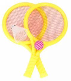Набор ракетки детские Shantou Gepai 29,5 см, мяч, волан