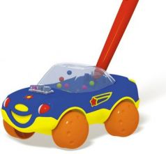 Каталка на палочке Стеллар Машинка цвет в ассортименте от 1 года пластик