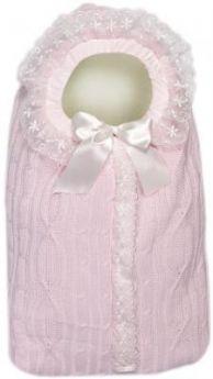 Конверт с 1 молнией Сонный Гномик Радость (розовый)